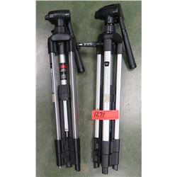 Qty 2 Smith-Victor Camera Tripods (RM-204)
