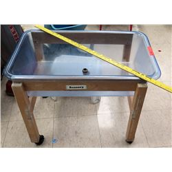 Small Wood Sensory Table