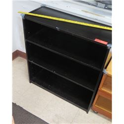 Black Shelving Unit (PRE-1)