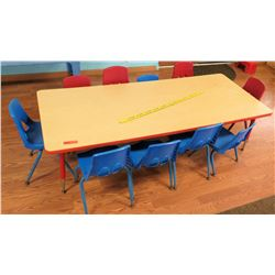 Toddler Table & 10 Chairs (PRE-2)