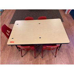 Toddler Table & 5 Chairs (PRE-2)