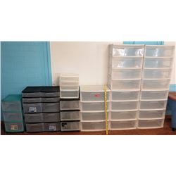 Multiple Plastic Storage Drawers (PRE-2)