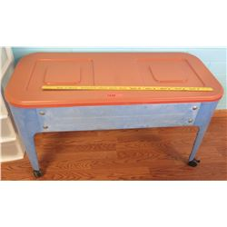 Plastic Table w/ 2 Inside Compartments (PRE-2)
