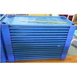 Qty 16 Blue Preschool Nap Cots (PRE-2)