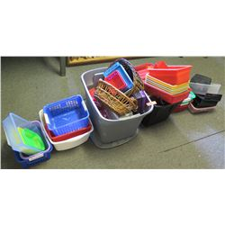 Multiple Plastic Storage Containers (PRE-2)
