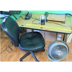 Table, Chair, Fan & Paper Cutter (PRE-2)