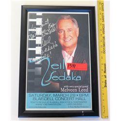 Neil Sedaka Poster (PRE-2)