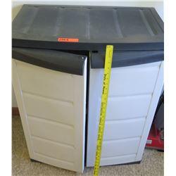 Short Plastic Storage Shed (PRE-2)