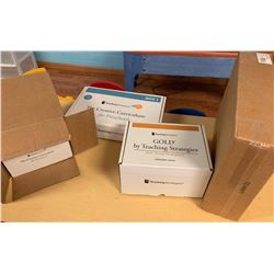 4 Boxes: New/Unused Complete Preschool Curriculum & Assessment (PRE-2)