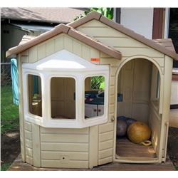 Plastic Outdoor Play House