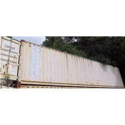 40' Shipping Container (currently on top of another container) (SOFTBALL FLD)