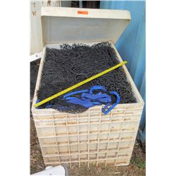Bin w/ Sports Netting (SOFTBALL FLD)
