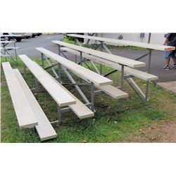 Metal Bleachers 15 ft (SOFTBALL FLD)