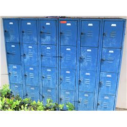 Blue 24 Unit Storage Locker (NR MARIANNE HALL)