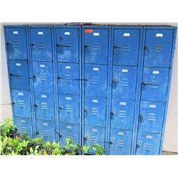 Blue 24 Unit Storage Locker (NR MARIANNE HALL)