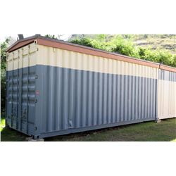 Shipping Container (has rust, roof leaks)