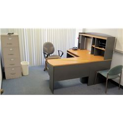 Contents of Room - Desk, Chairs, File Cabinet, etc - AC Not Included (RM-504)