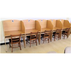 5-Section Cubicle Set w/ Chairs (RM-402)