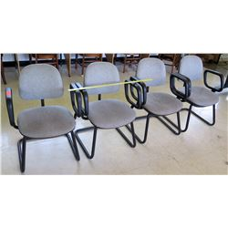 Qty 4 Arm Chairs (RM-402)