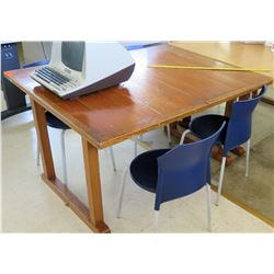 Wood Table & 2 Chairs (RM-402)