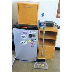 Mini Refrigerator, Shelves & Misc (Rm-402)