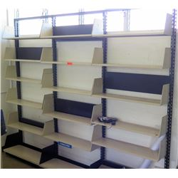 Qty 3 Metal Shelving Wall Units (Rm-402)