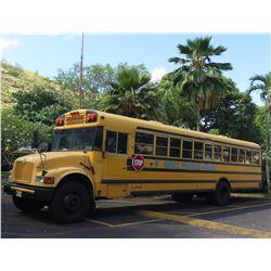 02 International School Bus - Runs & Drives, See Video