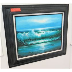 Framed Painting 27.5  x 24  (RM-101)