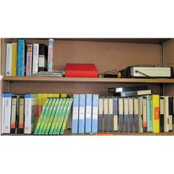 Misc. Scientific VHS Tapes & DVDs (RM-221)