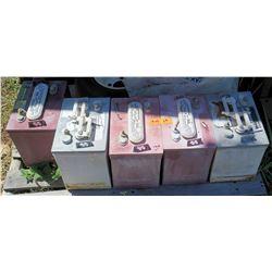 Qty 5 Golf Cart Batteries