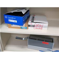 Comb Binding Machine Model CombBind C250 (RM-501)