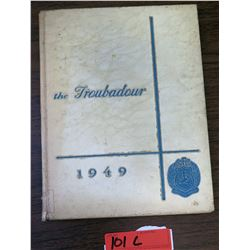 The Troubadour Yearbook 1949