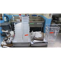 Misc. Cooking Supplies, Sheet Pans, etc. (RM-Kitchen)