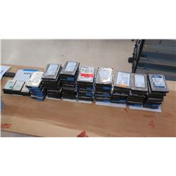 Large Lot of Hard Drives, Data Has Been Removed (RM-402)
