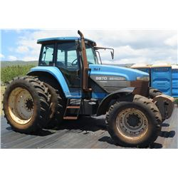New Holland 8870 Tractor (engine starts & runs, transmission problem)