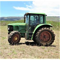 John Deere 6420 Tractor (Runs, Drives, Works, See Video)