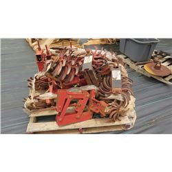 Pallet of Cultivator Parts