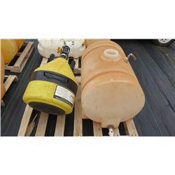 Qty 2 Plastic Tanks