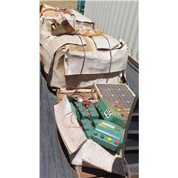 Multiple Pallets: StaFix Electronic Fencing, Solar Panels, Control Boxes, etc.
