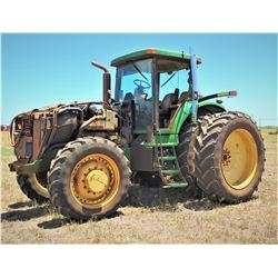 John Deere Tractor (Starts, Runs, Drives, Missing Engine Cover - See Video)