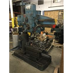American Tool Works Hole Wizard Radial Arm Drill Press