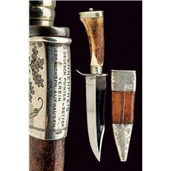 "20thc Austrian Hunting Knife ""J. FOLLARE WIEN"" - Competition Award"