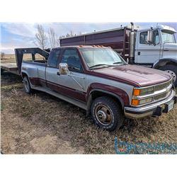 1997 Chevrolet 3500 4WD VIN: 1GCHK39F5VE204535