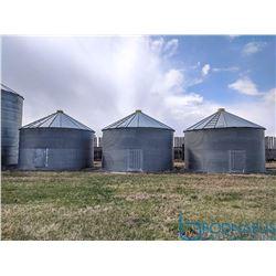 5500 Bu Westeel Rosco Bins (Steel Floors)
