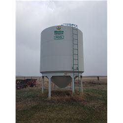 70T Westco Fertilizer Bin