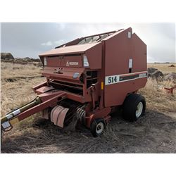 514 Hesston Round Baler Soft Core w/ Recondition Rollers Extra Belting S# R514 00644