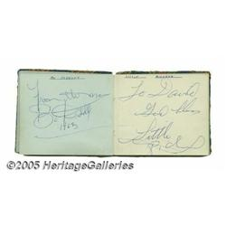 1963 Rock and Roll Autograph Book. This vintage a