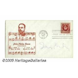Irving Berlin Signed First Day Cover (1940). Feat