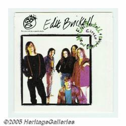 Edie Brickell Signed Record Sleeve. Here is a sig