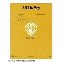 Sammy Cahn Signed Sheet Music. One of the last of